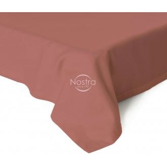 Flat sateen sheets 00-0132-TEA ROSE