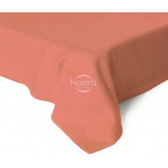Атласные простыни без резинки 00-0268-CORAL