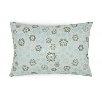 Flannel pillow cases with zipper 40-1046-L.BLUE