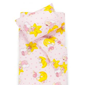Children bedding set DREAMY BEARS 10-0304-PINK