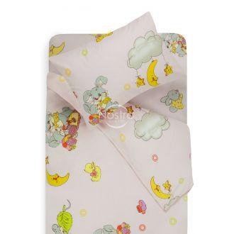 Bērnu katūna gultas veļa GOOD NIGHT BUNNY 10-0417-PINK
