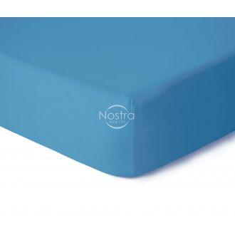Trikotāžas palagi ar gumiju JERSEY-ETHERAL BLUE