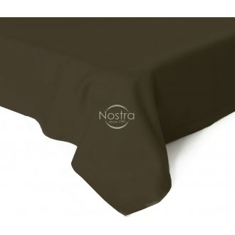 Flat sateen sheets 00-0154-DARK BROWN