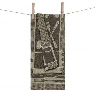 Кухонное полотенце WAFEL-240 T0018-BEIGE CHOC
