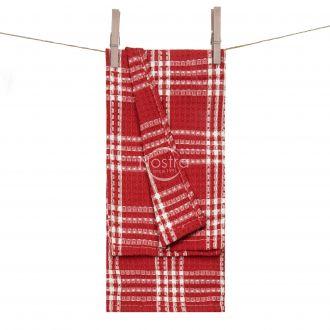 Кухонное полотенце WAFEL-240 T0101-RED