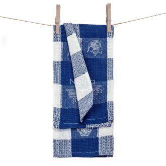 Кухонное полотенце WAFEL-240 T0103-ROYAL BLUE