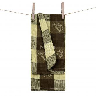 Кухонное полотенце WAFEL-240 T0104-L.BROWN
