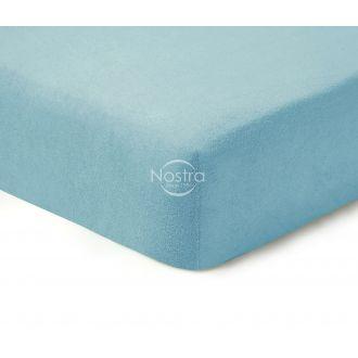 Махровые простыни на резинке TERRYBTL-L.BLUE