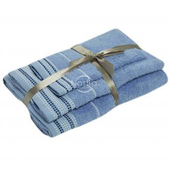 3-х предм. набор полотенец T0044 T0044-SOFT BLUE