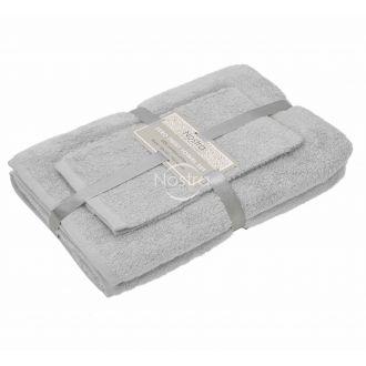 3 pieces towel set 380 ZT 380 ZT-L.GREY 22