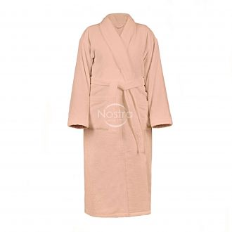 Bathrobe VELOUR-430 430 BATHROBE-PINK