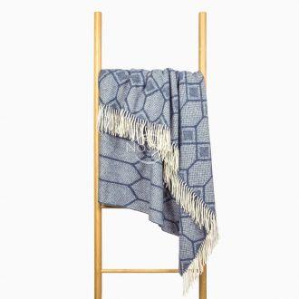 Vilnas pleds MERINO-300 80-3237-BLUE