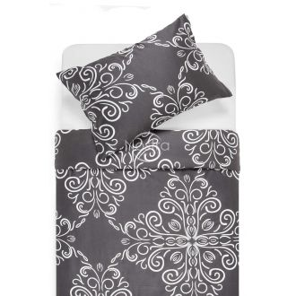 Sateen bedding set ADORABELLA 40-1175-GREY