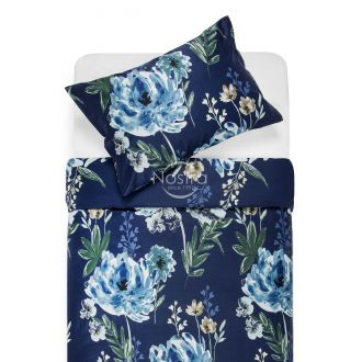 Premium maco sateen bedding set CELINE 20-1541-BLUE