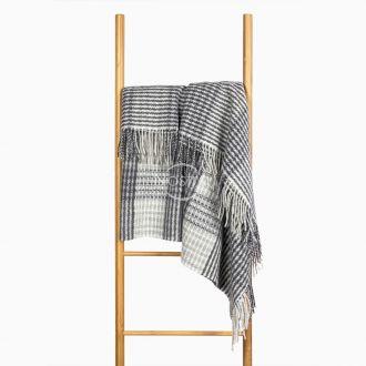 Woolen plaid MERINO-300 80-3192-GREY