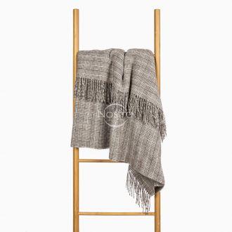 Woolen plaid MERINO-300 80-3224-BROWN