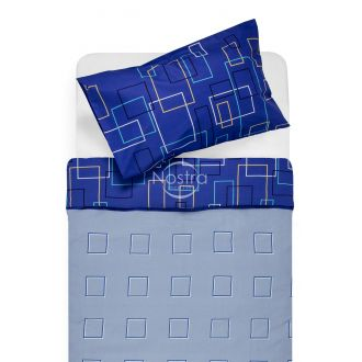 Cotton bedding set DELILAH 30-0248-BLUE