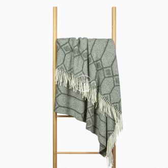 Woolen plaid MERINO-300 80-3238-GREY