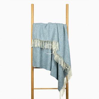 Woolen plaid MERINO-300 80-2060-LIGHT BLUE