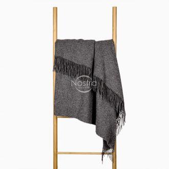 Woolen plaid MERINO-300 80-3137-DARK GREY