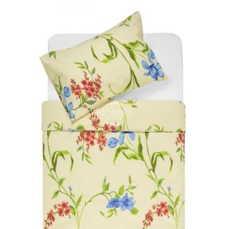 Kokvilnas gultas veļa DERVAL 20-1522-BLUE