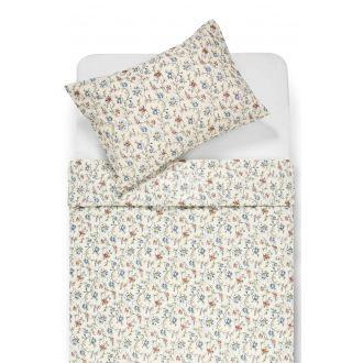 Kokvilnas gultas veļa DERORA 20-1529-OFF WHITE