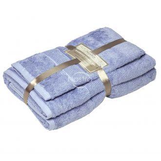 Bamboo towels set BAMBOO-600 T0105-SOFT BLUE