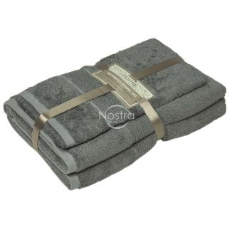 Bamboo towels set BAMBOO-600 T0105-FROST GREY