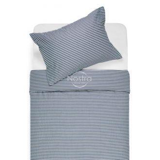 Satīna gultas veļa ADRIAN 30-0545-STONE BLUE