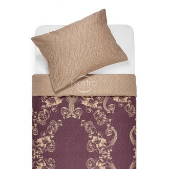 Sateen bedding set AGAFIA 40-1179/40-1177-PLUM