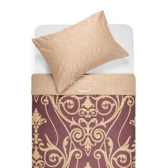 Sateen bedding set AGAFIA 40-1179/40-1178-PLUM