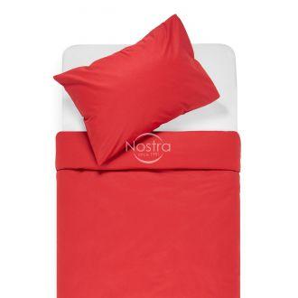 Kokvilnas gultas veļa DOTTY 00-0023-WINE RED
