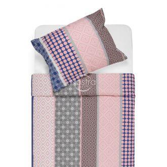 Cotton bedding set DYLAN 30-0578-PINK/BLUE
