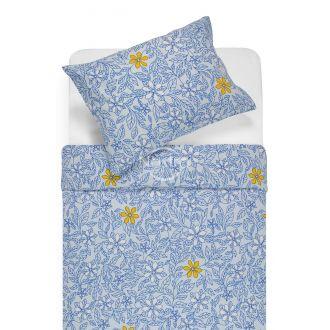Flaneļa gultas veļa BETHANY 20-1549-BLUE