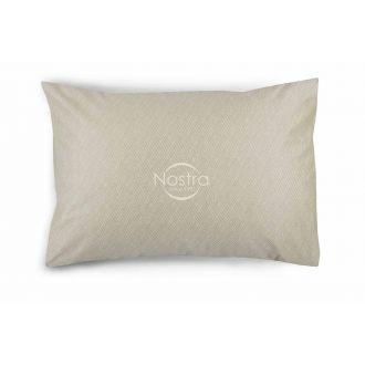 Sateen pillow cases with zipper 40-1179-CREAM