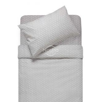 Bērnu katūna gultas veļa DOTS 30-0512-GREY