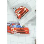 Bērnu katūna gultas veļa RACING CARS 10-0360-RED