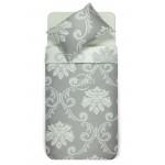 Mako satīna gultas veļa CHRISTINA 40-1047/40-1047-WHITE