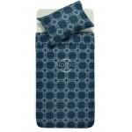 Flaneļa gultas veļa BRIANA 40-1045-BLUE