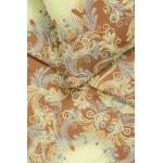Mako satīna gultas veļa CAROLINE 40-0631-YELLOW