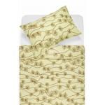 Kokvilnas gultas veļa DALARY 40-0649-BEIGE