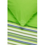 Kokvilnas gultas veļa DAKOTA 30-0249-GREEN/VIOLET