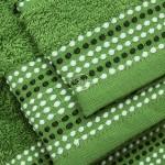 3 daļu dvieļu komplekts T0044 T0044-GREEN D28