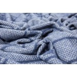 Vilnas pleds MERINO-300 80-3238-BLUE
