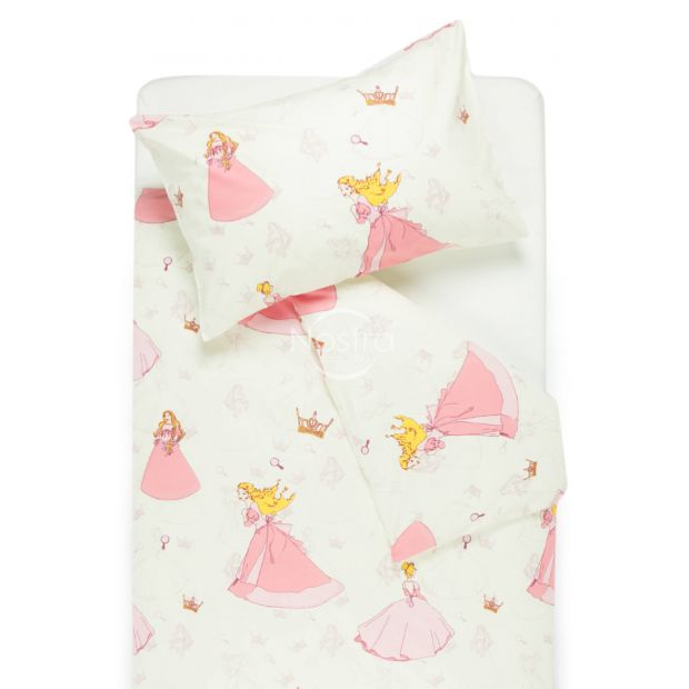 Bērnu katūna gultas veļa BEAUTIFUL PRINCESS