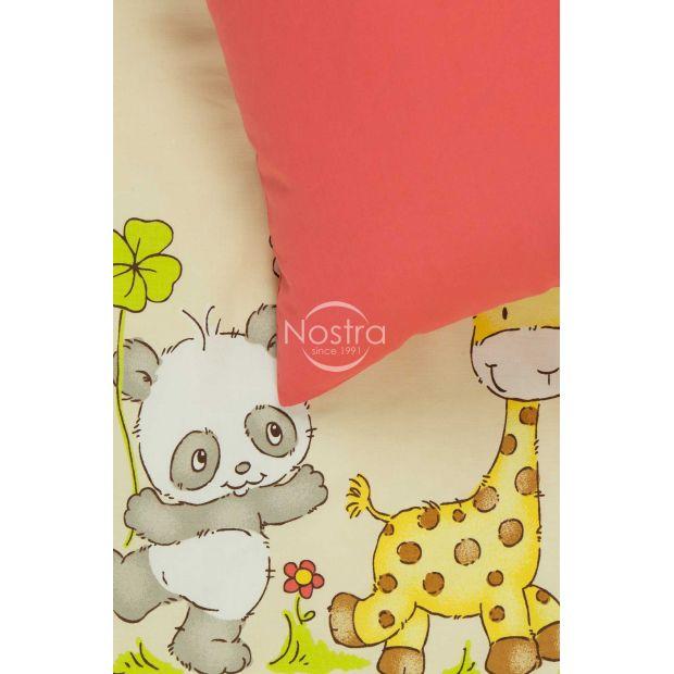 Bērnu katūna gultas veļa PANDA