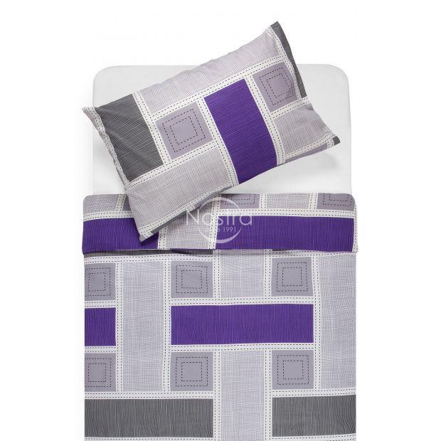Kokvilnas gultas veļa DIAMANDA 30-0575-GREY