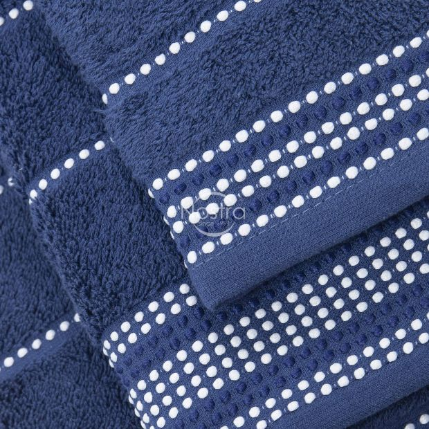 3 daļu dvieļu komplekts T0044 T0044-NIGHT BLUE