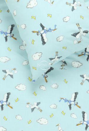 Children bedding set FLYING LITTLE STORKS