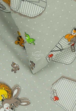 Bērnu katūna gultas veļa SLEEPING FRIENDS